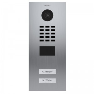 Interphone IP 2 sonnettes encastrable - anti-vandale