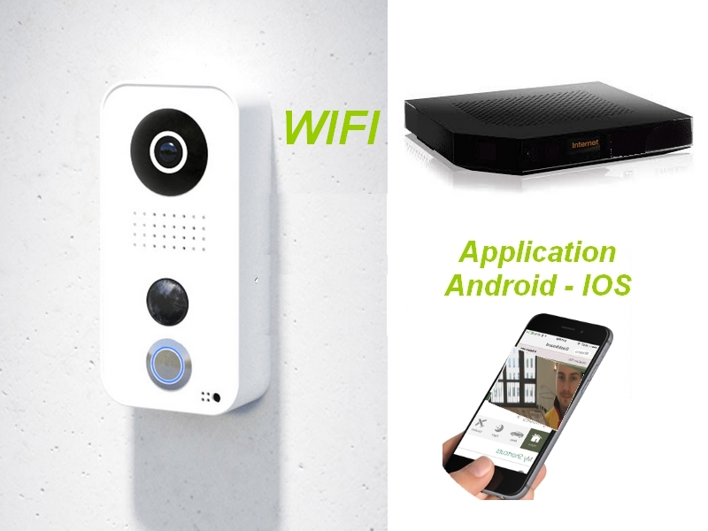 Interphone wifi HD