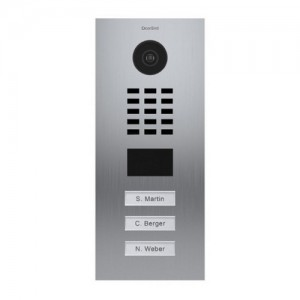 Interphone IP 3 sonnettes encastrable - anti-vandale