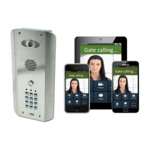 Visiophone GSM compatible smartphone