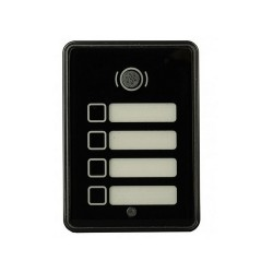 Interphone GSM 3G - collectif 4 sonnettes