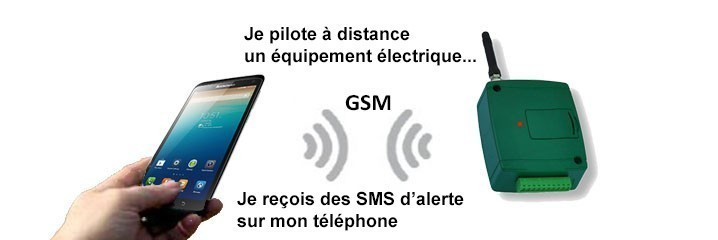Packs domotique GSM